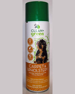 Clean+Green® is an all natural, patented line of pet cleaning products.