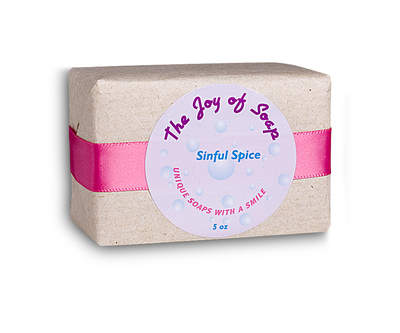 Joy of Soap - sinful spice