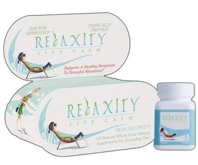 Relaxity is a non-drowsy, natural alternatives to relieve stress