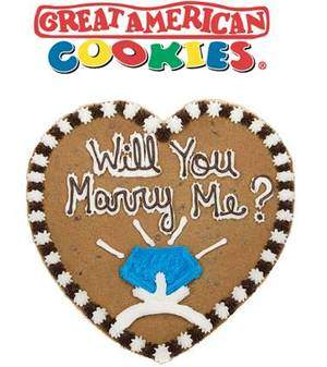 Cookie Cake Ideas For Boyfriend : heart shaped cookie - picture - Bloguez.com