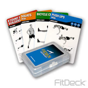 FitDeck Exercise Playing Cards