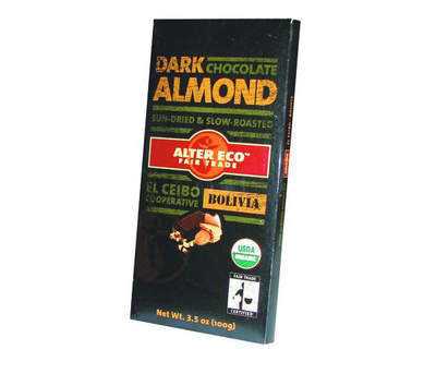 Dark Almond Chocolate - Organic