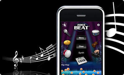 ZooZBeat - the first gesture based mobile music studio