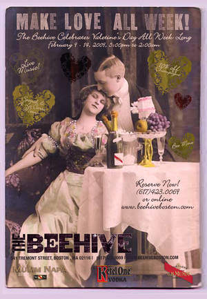 The Beehive's Make Love All Week for Valentine's Day