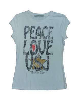 Peace, Love, VSJ T-shirt
