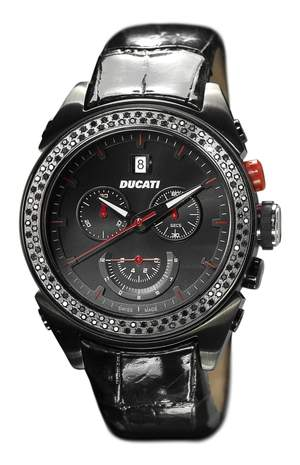 Ducati One with black diamonds