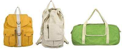 Selection of EastSport Natural Collection Bags