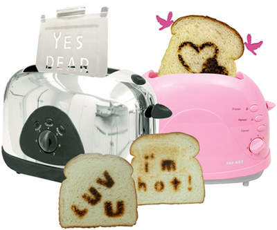 Love Struck toaster set