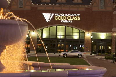 Outside Shot of Gold Class Cinemas
