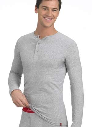 Jockey 3D-Innovations Long Sleeve Henley and Boxer Brief