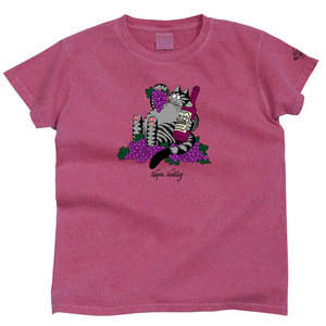 Kliban Cat Wine Dyed T-shirt