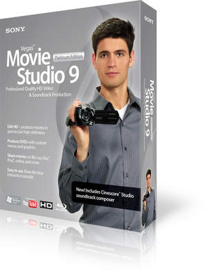 Vegas Movie Studio 9 Platinum Edition