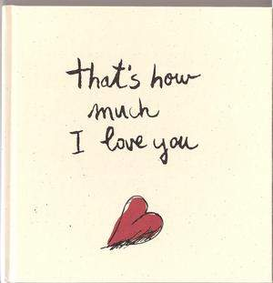 That's How Much I Love You Book Cover
