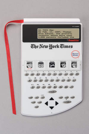 The New York Times PageMark Dictionary by Franklin Electronics