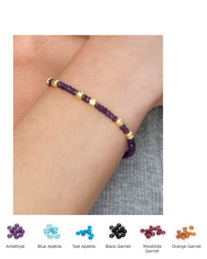 The Simona Bracelet - comes in 6 colors