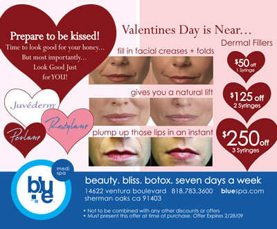 Prepare to be Kissed with Dermal Fillers from Blue Spa