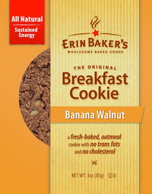 Erin Baker's Wholesome Baked Goods Breakfast Cookie
