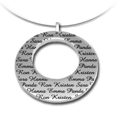Personalize your Pendant today!