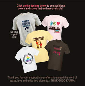 Think Good Karma T-Shirts