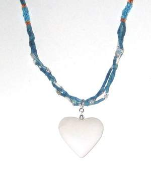 This Year Give a gift that gives beck: Zulugrass with heart pendant