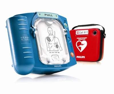 The Philips HeartStart Home Defibrillator