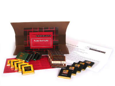 Experience: CHOCOLATE Pure Rapture Dark Chocolate Tasting Kit