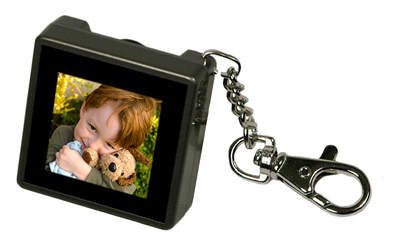 Digital Foci Pocket Album OLED 1.5 Digital Keychain Photo Viewer