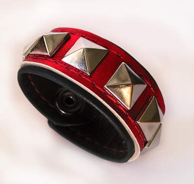 Midnight Passion Cuff Bracelet