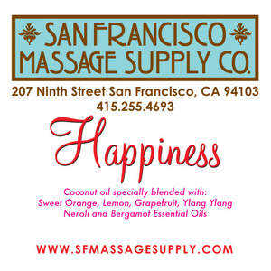 Happiness Massage oil