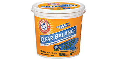 ARM & HAMMER® Clear Balance™ Pool Maintenance Tablets