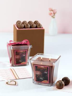 Sinful Strawberry Truffle Candle
