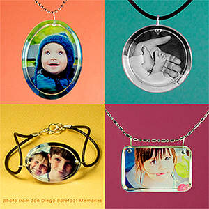 Little Windows® brilliant photo jewelry