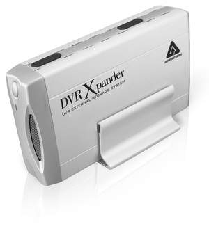 Make more time for your favorite shows! Increase DVR storage with 1.5 TB DVR Xpander from Apricorn