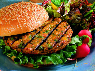 Dr. Praeger's Sensible Foods California Veggie Burger