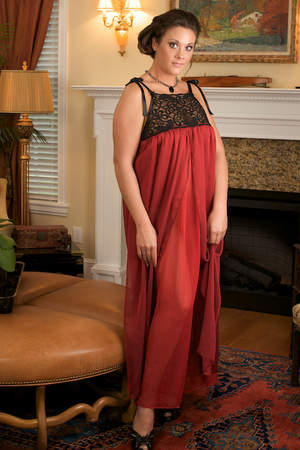 Evening Rose, a luxury nightgown from Certain Style