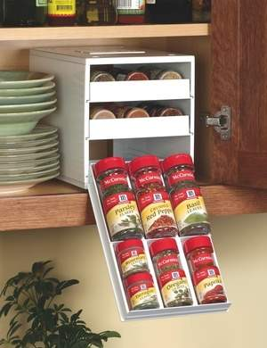 SpiceStack Organizer for Kitchen Cabinet