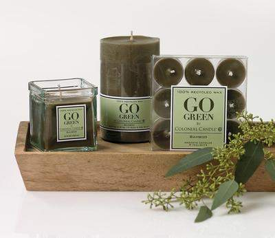 Go Green Candle Collection