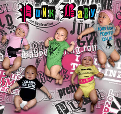 Punk Baby rocks your babies for you!