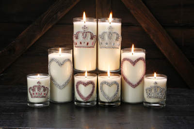 Crystal Crowns and Hearts