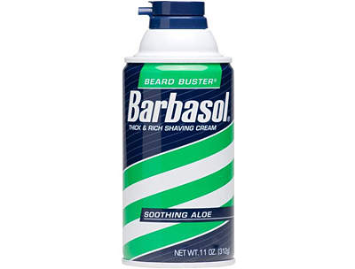 Barbasol Soothing Aloe Shave Cream