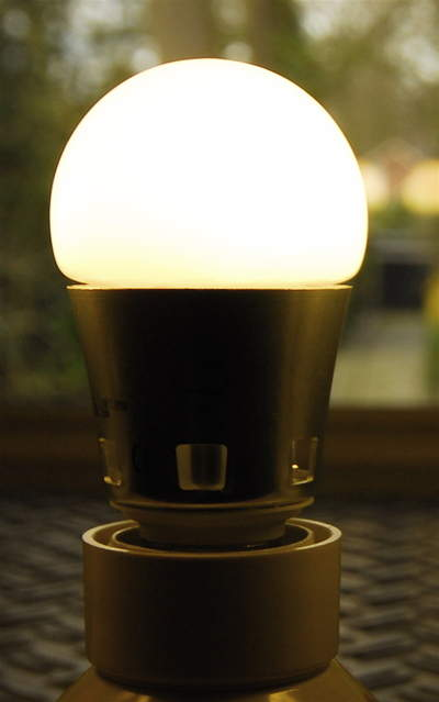 The Pharox LED lightbulb