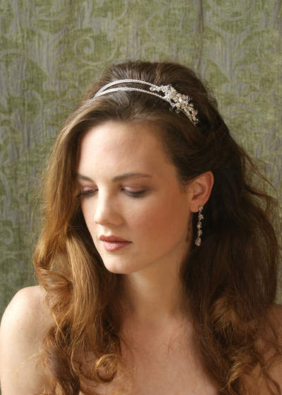 This headband from PrincessBrideTiaras.com is just one of hundreds of affordable accessories.
