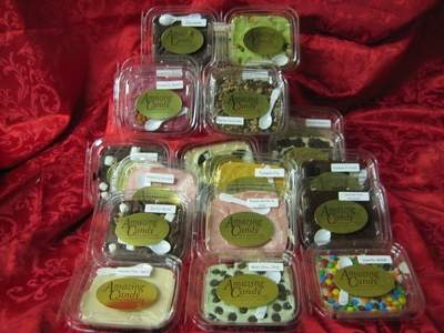Gourmet Fudge Safety Seal Containers