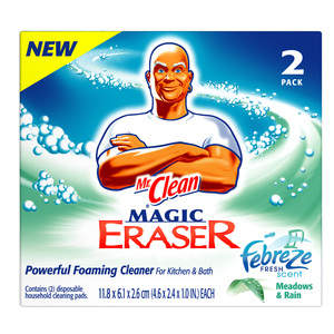 Mr. Clean Magic Eraser with Febreze