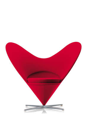 Vitra's Heart Cone Chair by Verner Panton