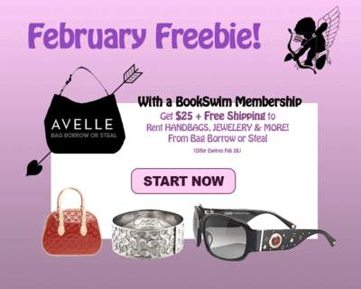 BookSwim/Avelle February Freebie promotion