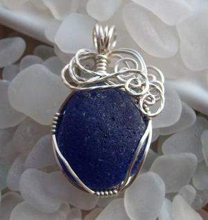 Blue Apple pendant at Earths-journey.com