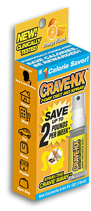 Crave-NX 7-day Diet Aid Spray