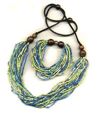 Multistrand Bracelet and Necklace