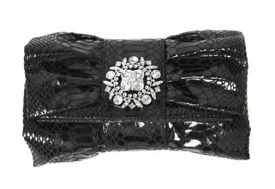 IMAN Global Chic Bow Clutch